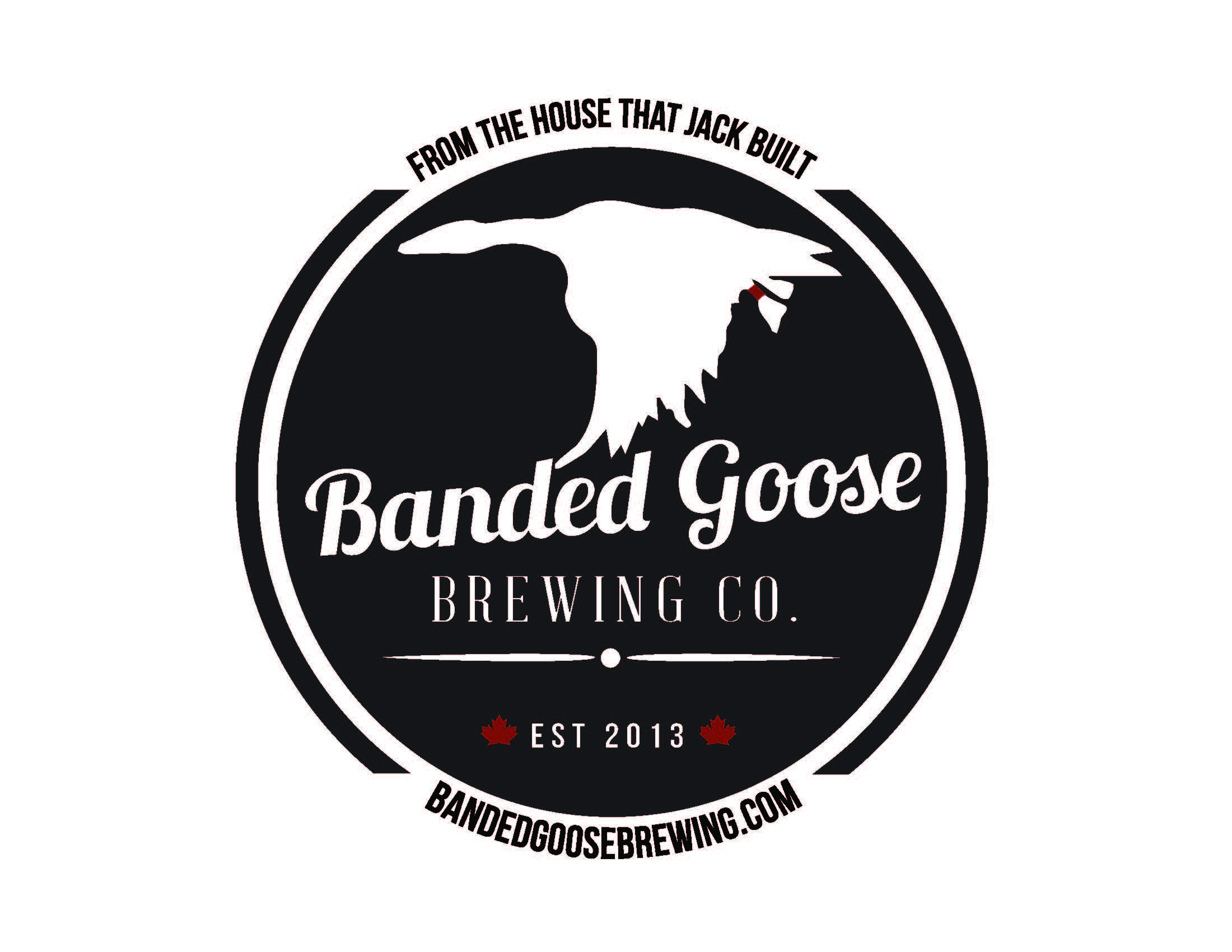 The Banded Goose Brewing Company logo